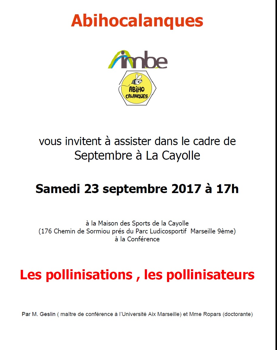 Invitation Conférence Imbe