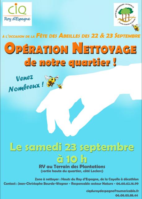 Operation-Nettoyage-fete-de s-abeilles 23 sept 2017