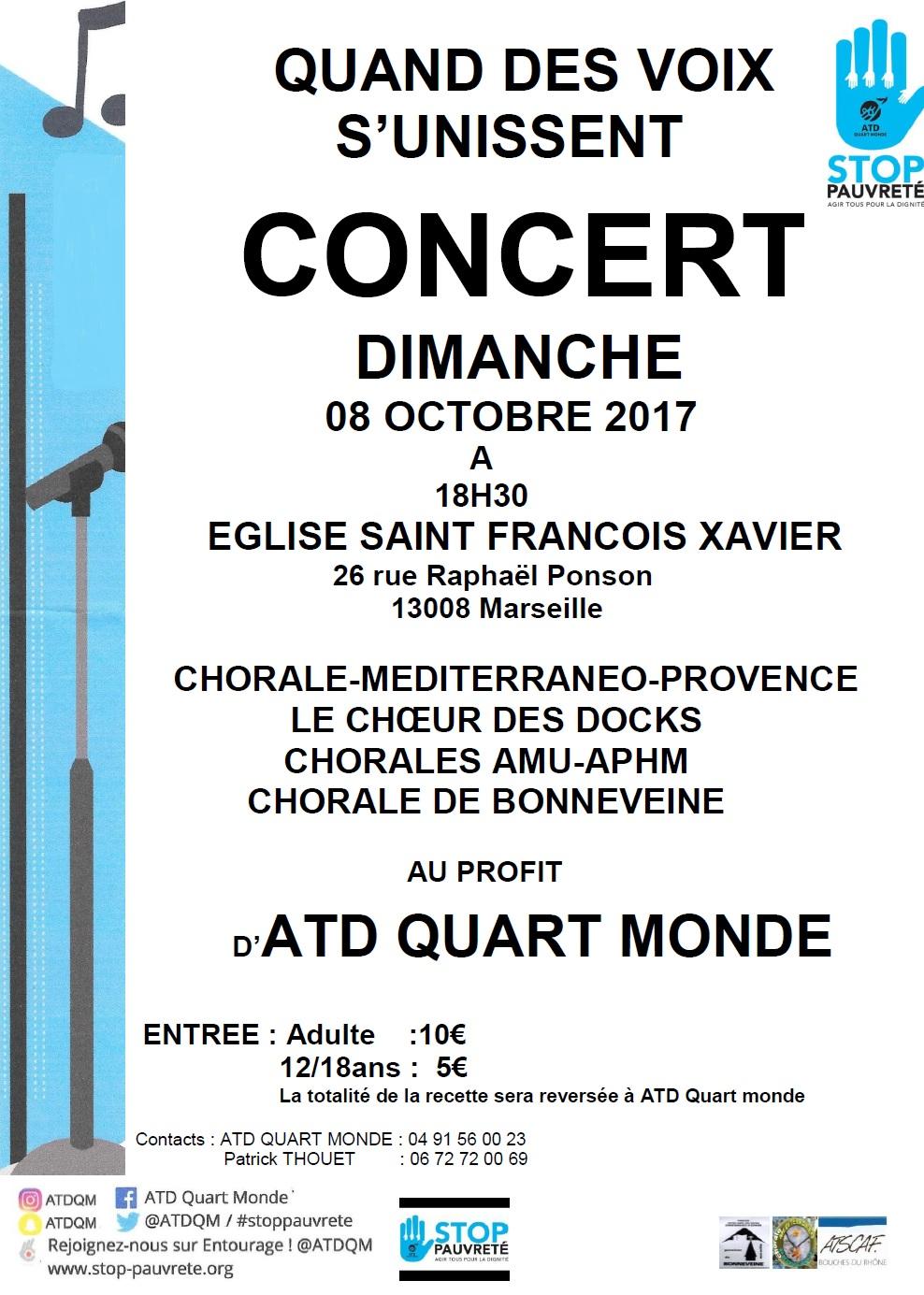 Concert ATD Quart Monde