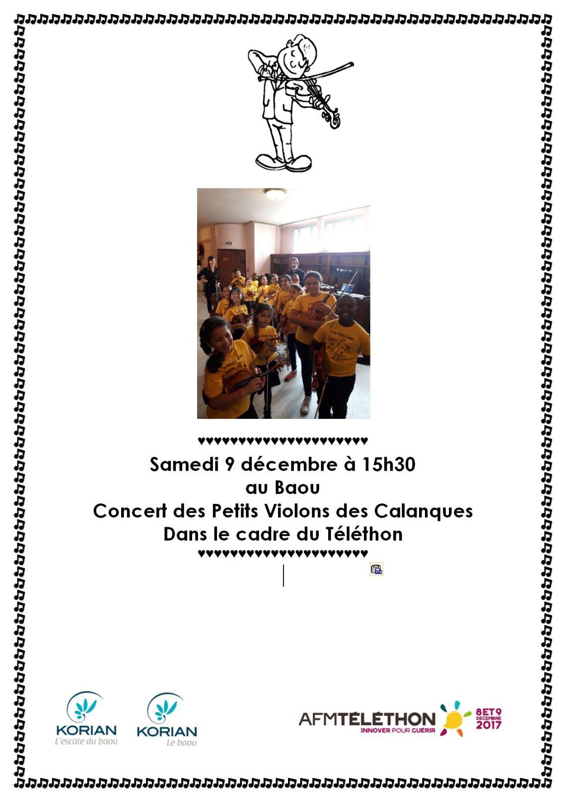 Affiche Concert KORIAN 09-12-2017