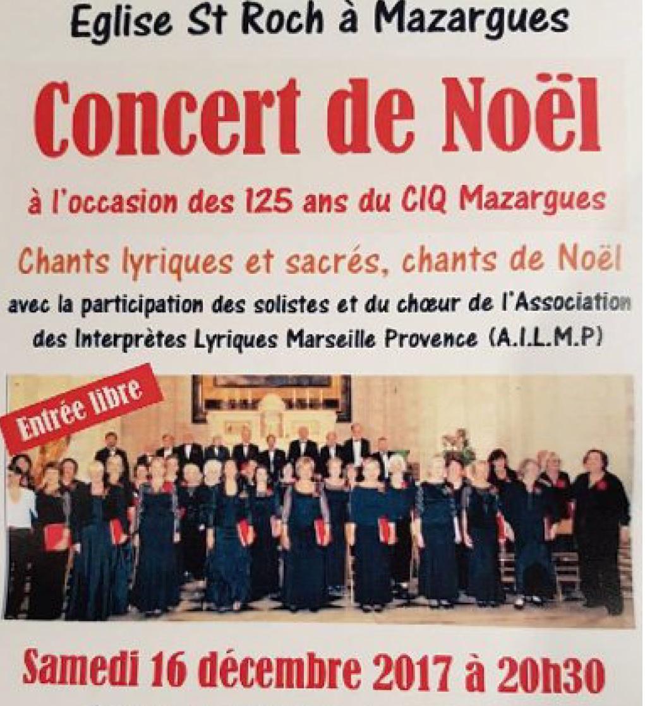 Concert 16.12.Eglise Mazargues