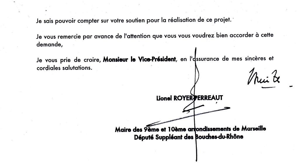 Lettre RTM LRP Métropole 2