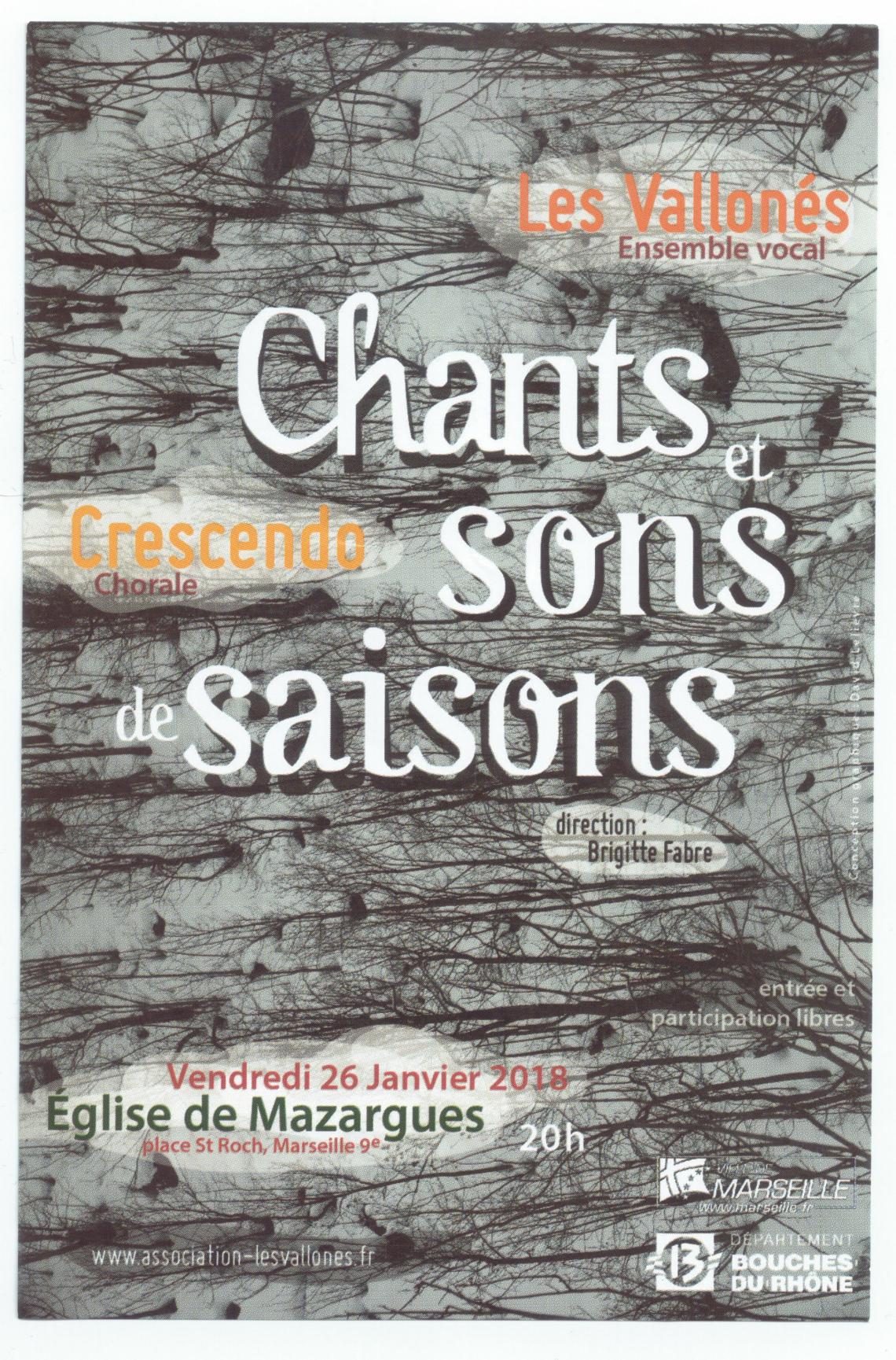 Affiche Les Vallonés Ensemble vocal (1)