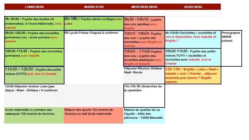 Planning 2 e atelier GMEM