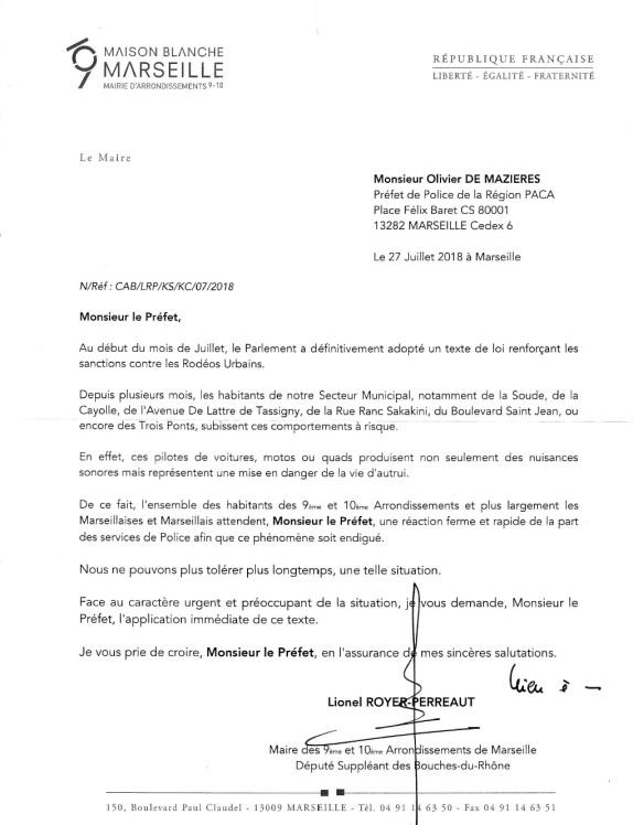 Lettre LRP Olivier de Maziéres 27.07.18