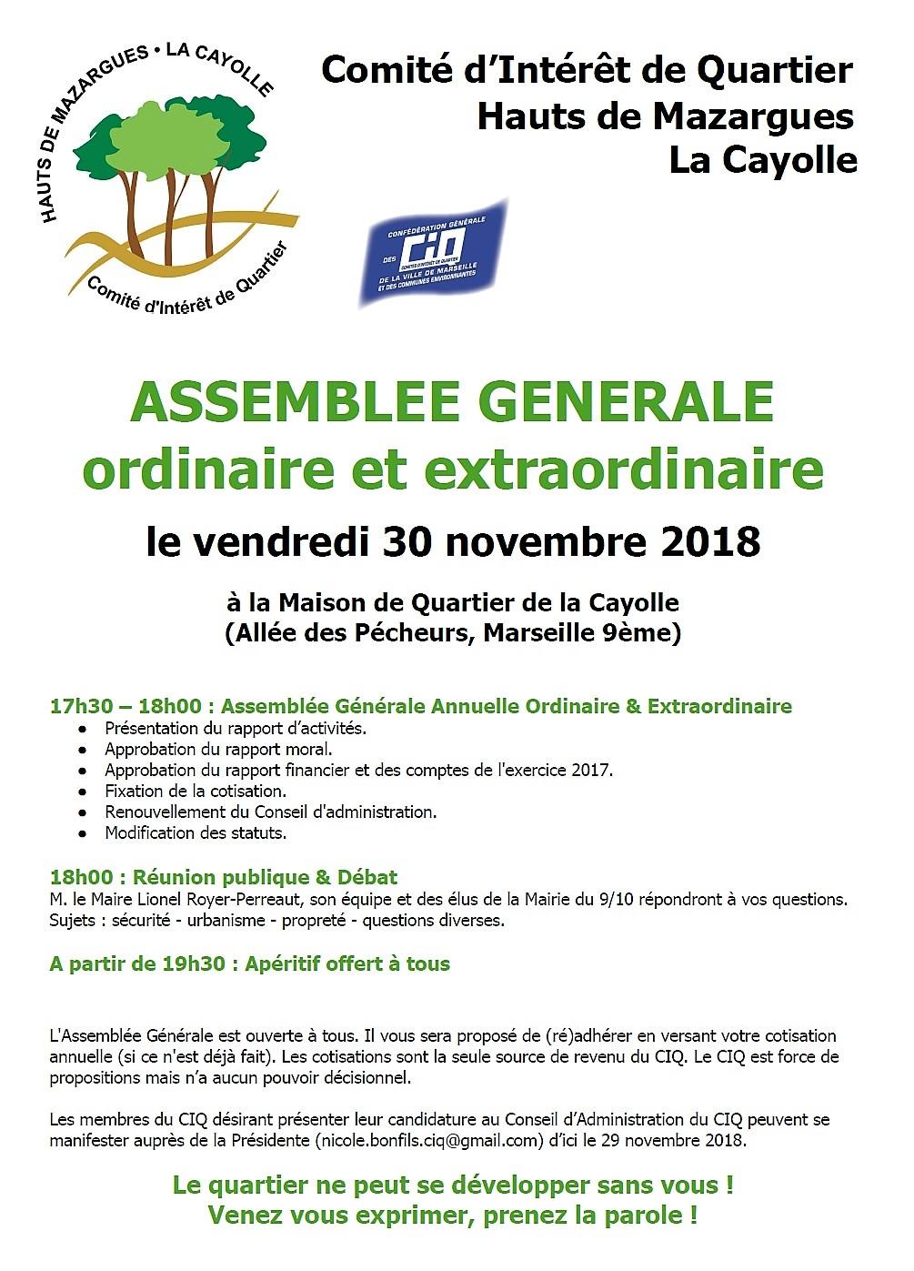 Affiche AG 30.11.2018
